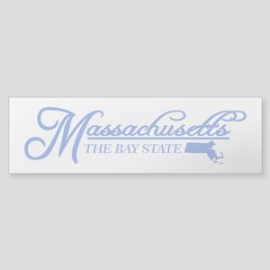 Massachusetts State of Mine Bumper Sticker